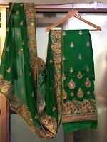Punjabi suits heavy wedding wear stone Designer Indian pakistani SALWAR KAMEEZ