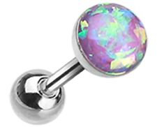 Body Accentz Tragus Opal Sparkle Cartilage Tragus Earring 18g 1pc