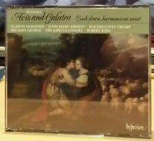 Hyperion 2CD 1st UK King's Consort Handel Acis Galatea Baroque Opera HIP