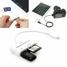 3 USB Card Reader Micro SD Camera Link Adapter for iPad /Mini iphone