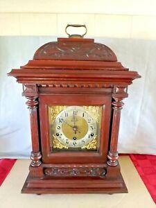 ANTIQUE LARGE KIENZLE BRACKET CLOCK. 4/4 WESTMINSTER CHIME. 8 DAY  Circa 1908