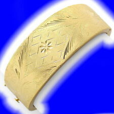 Markenlose Echte Edelmetall-Armbänder ohne Steine im Armreif-Stil aus mehrfarbigem Gold