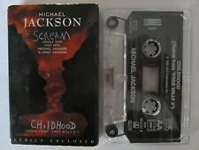 MICHAEL JACKSON JANET JACKSON SCREAM THEME FROM FREE WILLY CASSINGLE TAPE