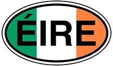 Eire Vinyl Sticker 12x7cm Ireland Irish republic car Dublin Cork Galway bumper