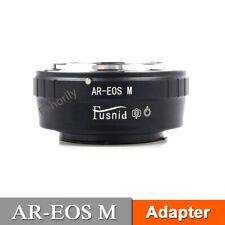 AR-EOS M Konica AR Lens to Canon EOS M EF-M3 M5 M6 M10 Mirrorless Camera Adapter