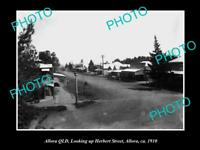 OLD LARGE HISTORIC PHOTO OF ALLORA QLD, VIEW OF HERBERT STREET c1910