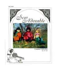 """Sew Adorable Doll Clothes Pattern, fits 18"""" American Girl, Costume Collection"""
