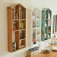 68CM Wood Shelving Wall Storage Children Shelves Display Cubes Cabinet BOOKCASE