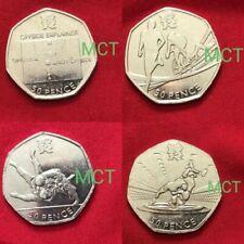 Monedas de Gran Bretaña anteriores al euro