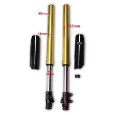 Gold Front Shock Suspension Fork Assy Guard For CRF50 SDG 50-125cc Pit Dirt Bike
