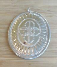 Vintage Towle 1975 Sterling Silver Ornament ~ 24.7 grams ~ 9-F7273