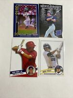 Mike Trout 4 Card  Rookie Lot $$Hot$$