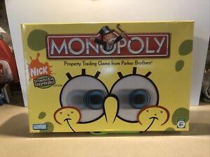Monopoly Spongebob Squarepants Edition 2005 New