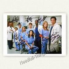 Greys Anatomy - Cast Grey´s Anatomy - Autogrammfoto alle Unterschriften [AK1] 