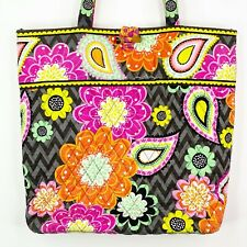 Vera Bradley Ziggy Zinnia Handbag Purse Tote Shoulder Bag