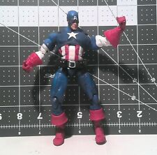 "Marvel Legends Icons Masked Captain America Loose 6"" Figure Toy Biz 2006"