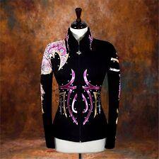 LARGE  Showmanship Pleasure Horsemanship Show Jacket Shirt Rodeo Queen Rail