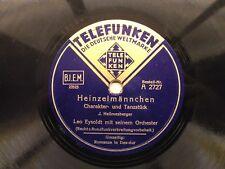 Telefunken - Leo Eysoldt - Heinzelmännchen - Romanze in Des-Dur