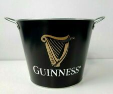 Official Guinness Stout Beer Metal Ice Bucket Storage Bin 5Qt