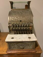 "New ListingAntique National ""candy store"" brass cash register model 250, serial 527433"