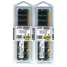2GB 2 x 1GB DDR 1 Desktop Modules 3200 Low Density 18 pin 184-pin Memory Ram Lot