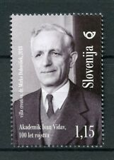 Slovenia 2018 MNH Ivan Vidav Mathematician 1v Set Academics Mathematics Stamps