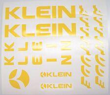 Klein Attitude Paint Mask Decals ~ Klein Frame, Fork, Mission Control Decals