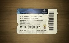 Sammler Used MINT Ticket CL SL Benfica Lissabon - FC Bayern München 19.09.18 FCB