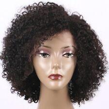 "Curly Short Bob Wigs Short Curly Deep Part Human Hair Wigs For Black Women 10"""