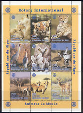 Niger - 1999 MNH mini-sheet of 9 Rotary stamps #1003  Lot #21