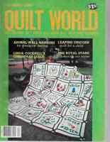 Quilt World Magazine - December 1983 Sunbonnet Sue, Fisher Boy, Leaping Unicorn