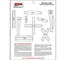 Atlas - Track Planning Template Set - HO