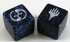 Magic Planechase Original Black/blue/silver Speckled Dice Set OOP