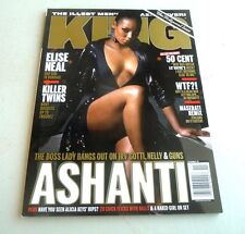 MAGAZINE KING ASHANTI GREATEST CHICK FLICKS ELISE NEAL MELISSA DE SOUSA 2007