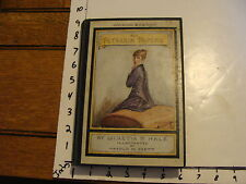 vintage book: THE PETERKIN PAPERS by Lucretia Hale, Illus by Harold Brett 1924