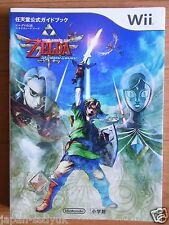 JAPAN Legend of Zelda Skyward Sword Nintendo Official Guide Book