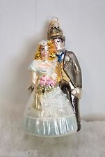 Kurt Adler Polonaise Christmas Ornament Wedding Couple Komozja Nib (P6)