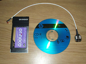 APPLE NEWTON 2100/2000 EMATE ORINOCO GOLD WIRELESS CARD NIC and CD