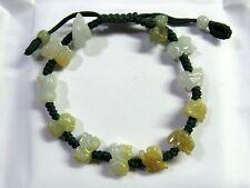Natural Jade Chinese 12 Animals Zodiac Beads FENG SHUI LUCKY Good Luck Bracelet