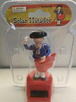 2PC SPANISH Matador BOBBLE HEAD TOY SOLAR POWER CAR DASH OFFICE DESK GIFT mexico