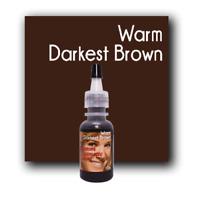 MICROBLADING CUSTOM COSMETIC COLOR Permanent Makeup Pigment Warm Darkest Brown