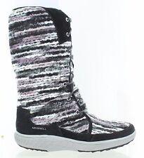 Merrell Women's Pechora Sky Lined Winter Snow Boot Black Multi Size 8.5 M