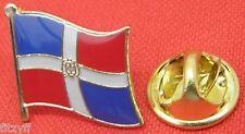 Dominican Republic Flag Lapel Hat Cap Tie Pin Badge Brooch República Dominicana