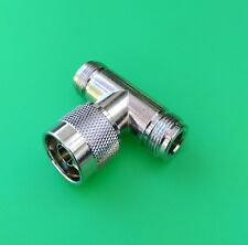 (2 PCS) N TEE Type Connector - 1 Male to 2 Female  - USA Seller