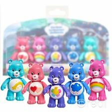 NUOVO Care Bears 5 Figura Pack Cheer Harmony scontroso LOVE-a-lot & desiderio Ufficiale