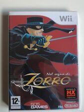 Nel segno di Zorro Nintendo WII nuovo sigillato versione italiana triangolo blu