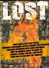 LOST OFFICAL MAGAZINE - LOCKE & JORGE COVER + VARIANT COVER #4B - SEALED