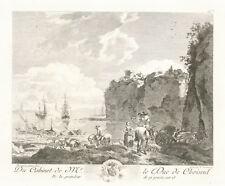 68 b- Gravure XVIIIème -  Du Cabinet de M. Le Duc de Choiseul - Berghem