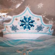 450 Prinzessinnen Krone Eiskristall ♥ Haarreifen Krone ♥ Handarbeit ♥ Geburtstag