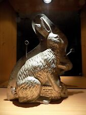 * BUNNY  EASTER CHOCOLATE MOLD MOULD    MOLDS VINTAGE ANTIQUE